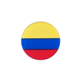 Tennis Plaza Colombia Flag Tennis Dampener