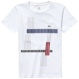 Lacoste Chest Graphic Boy's Tennis T- Shirt