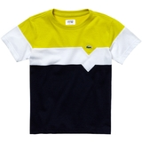 Lacoste Color Block Boy's Tennis T- Shirt