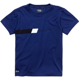 Lacoste Chest Stripe Boy's Tennis T-shirt