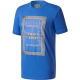 Adidas Pharrell Williams Ny Graphic Men's Tennis Tee