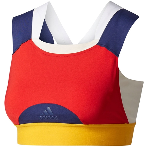 8253cbf27b Adidas Pharrell Williams NY Women's Tennis Bra Red/yellow/blue