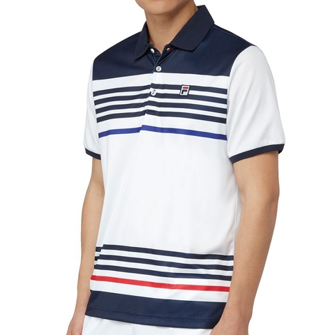 Fila Heritage Stripe Men's Tennis Polo