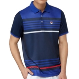 Fila Heritage Stripe Men's Tennis Polo