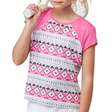 Fila Moroccan Girl's Tennis Top