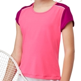 Fila Abstract Court Girl's Tennis Top