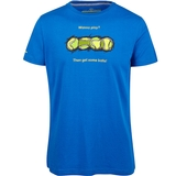Baseline Tennis Wanna Play Men's Tennis Tee