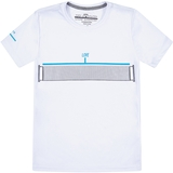 Baseline Tennis Net Boy's Tennis Tee