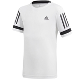 Adidas Club 3 Stripes Boy's Tee