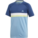 Adidas Club Color Block Boy's Tee