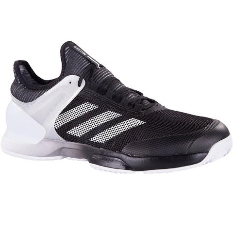 adidas adizero ubersonic 2 clay uomini scarpe da tennis nero / bianco