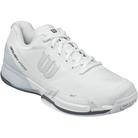 b3dad4509e04b5 Wilson Rush Pro 2.5 Men's Tennis Shoe White/silver