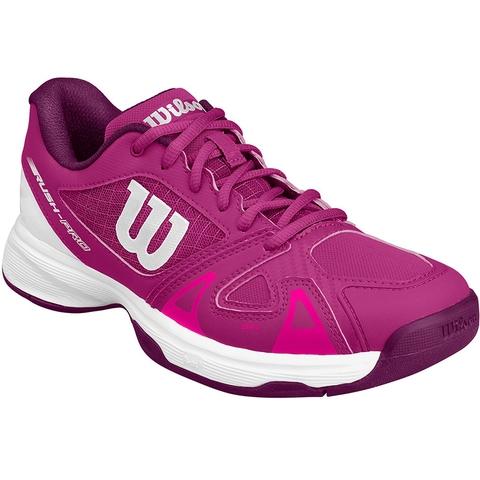 huge discount df1de fa10a Wilson Rush Pro 2.5 Junior Tennis Shoe. WILSON - Item  WRS324010