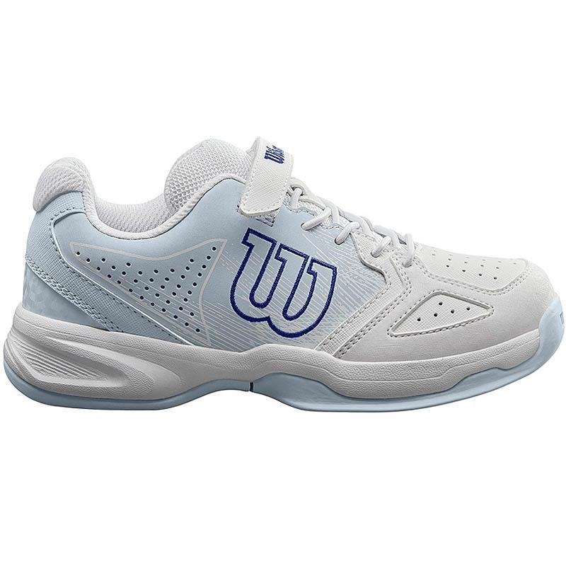 Wilson Stroke Junior Tennis Shoe White/blue