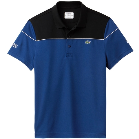 a4226a9ab Lacoste Pique Ultra Dry Colorblock Men's Tennis Polo. LACOSTE - Item  #DH412151JRG