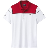 Lacoste Pique Ultra Dry Colorblock Men's Tennis Polo
