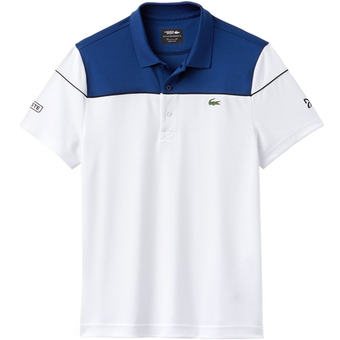 f78522ccc Lacoste Pique Ultra Dry Colorblock Men's Tennis Polo. LACOSTE - Item  #DH412151PSD