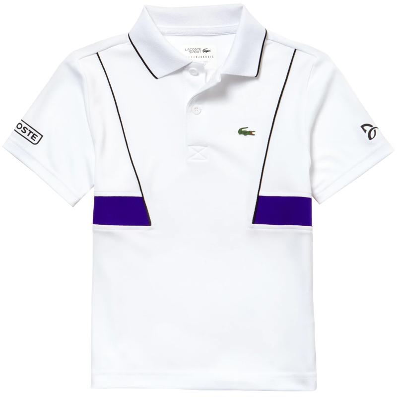 para niño Roland Garros Polo Ultra Dry Lacoste de tenis eEDHYIW29