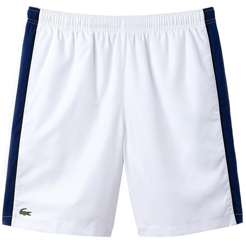 8df99eb8d6 Lacoste Woven 8 Men's Tennis Short White/marino/black