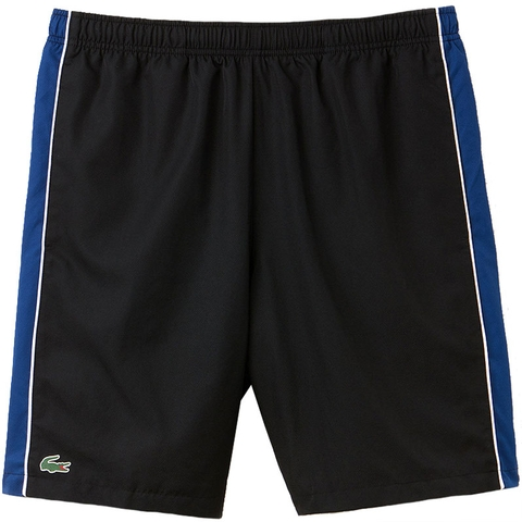 7ea7f99448 Lacoste Woven 8 Men's Tennis Short Black/marino
