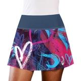 LacoaSports Hearts Women's Tennis Skirt