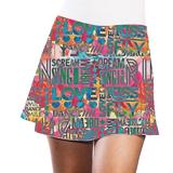 LacoaSports Positive Women's Tennis Skirt