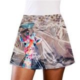 LacoaSports Giraffe Women's Tennis Skirt