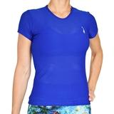 LacoaSports Shorts Sleeve Women's Tennis Top
