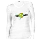 LacoaSports Tennis Addict Long Sleeve Women's Tennis Top