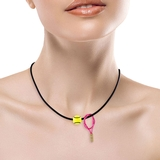 LacoaSport Women's Necklaces With Racquet