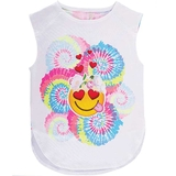 Lucky In Love Groovy Smile Girls Tank