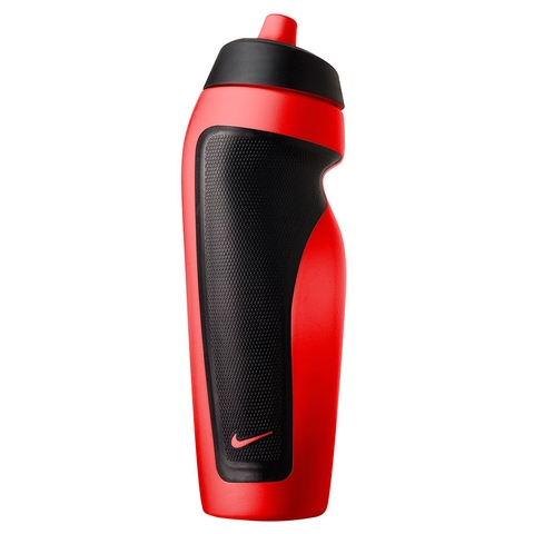 Nike Sport Tennis Water Bottle Red/Black