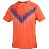 Athletic DNA Mesh Chevron Blur Men's Tennis Crew