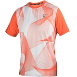 Athletic DNA Mesh Linear Waves Boy's Tennis Crew