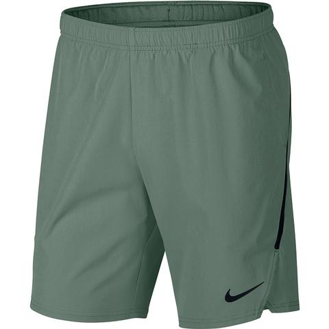 cde41a3585de Nike Flex Ace 9 Men s Tennis Short Claygreen black