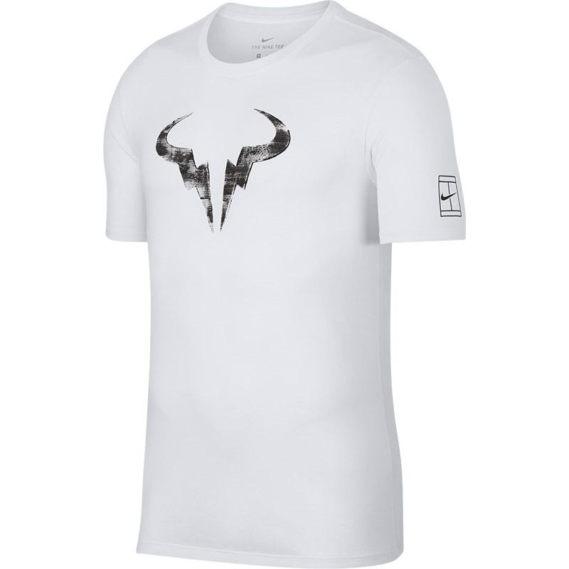 9622ecaed Nike Rafa Men's Tennis Tee White/black