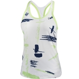 Athletic Dna Art Brush Racerback Girl's Tennis Tank
