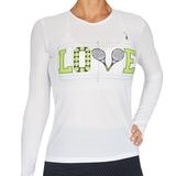 LacoaSports Love Long Sleeve Women's Tennis Top