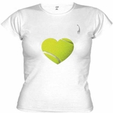 LacoaSport Tennis Heart Women's Tennis Top