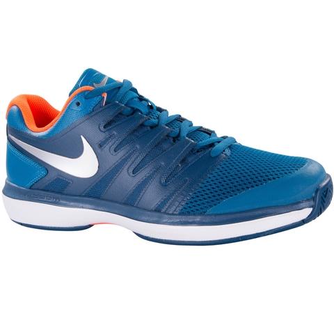 e0b47df840 Nike Air Zoom Prestige Junior Tennis Shoe Green/silver/blue