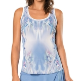 Lucky in Love Floral Fantasy Women's Tank