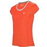 Babolat Core Flag Club Girl's Tennis Tee