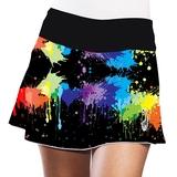 LacoaSports Paint Women's Tennis Skirt