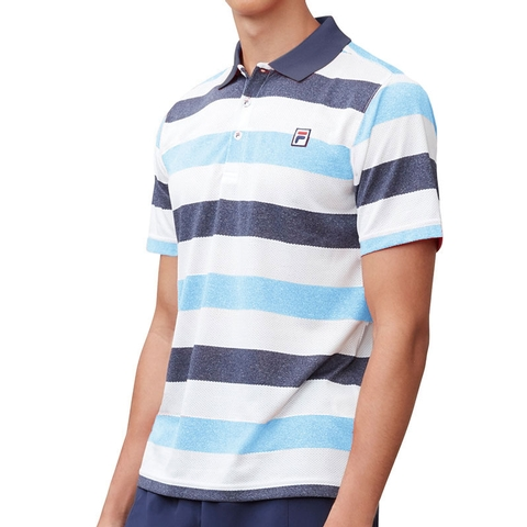 8fbd49f1 Fila Heritage Striped Men's Tennis Polo. FILA - Item #TM181B78412