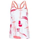 Athletic Dna Art Brush Racerback Girl's Tennis Tank