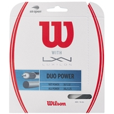 Wilson Duo Power Hybrid Tennis String Set