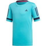 Adidas Club 3 Stripes Boy's Tennis Tee