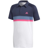 Adidas Club Color Block Boy's Tennis Polo