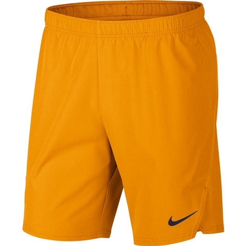 916eb7589fa00 Nike Flex Ace 9 Men's Tennis Short Orangepeel