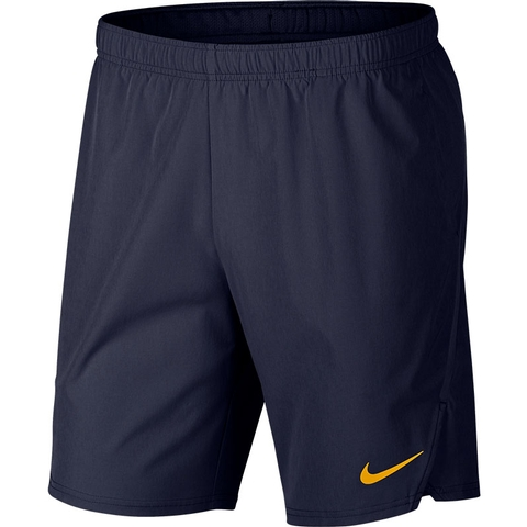 943140554f549 Nike Flex Ace 9 Men s Tennis Short Blackenedblue orange